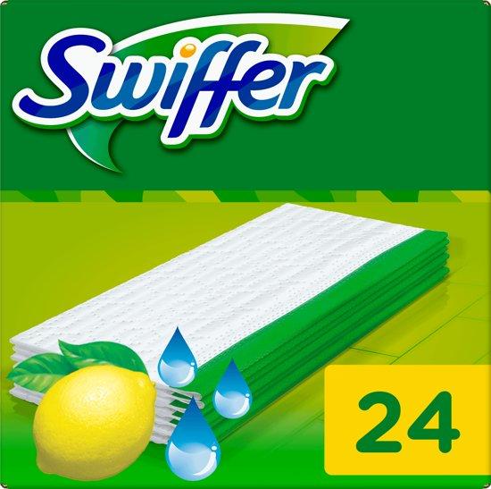 bol.com : Swiffer Nat Natte Vloerdoekjes - 24 navullingen : Mooi en ...