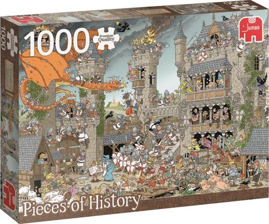 Stukjes of History Castle - Legpuzzel - 1000 Stukjes in Saint-Martin