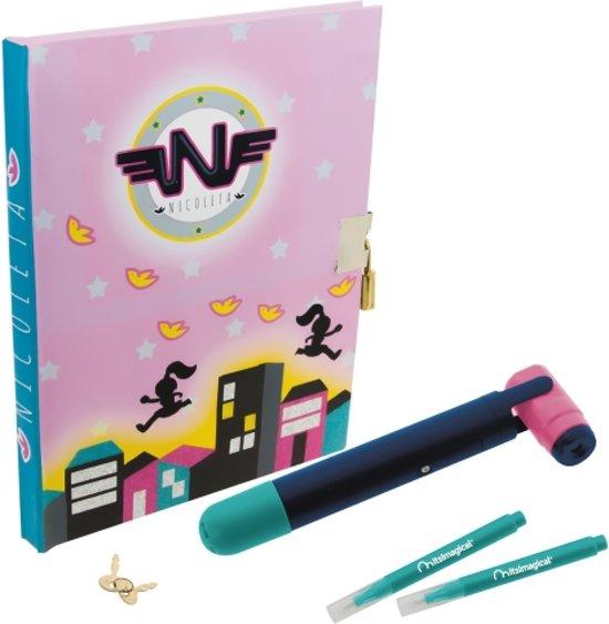 Imaginarium Secret Diary - Dagboek met Slotje en Onzichtbare Inkt - Inclusief Lampje in Dale