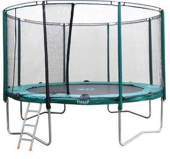 etan premium silver trampoline 430 cm. Black Bedroom Furniture Sets. Home Design Ideas