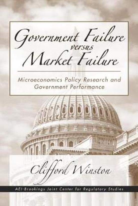 Government strategies for market failure