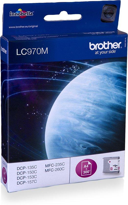 Brother LC-970M - Inktcartridge / Magenta