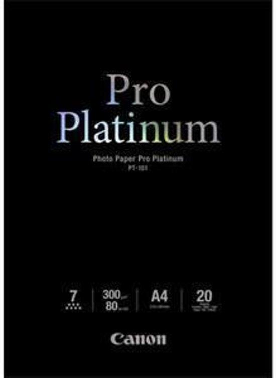 Canon PT-101  Pro Platinum Photo A4, 20 sheets