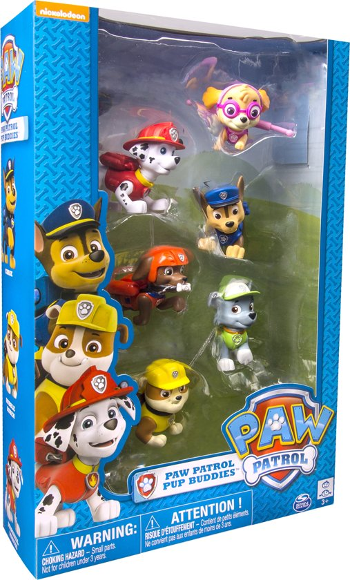 Paw Patrol 6-Pack Pup Figurine Gift Set in Roderwolde