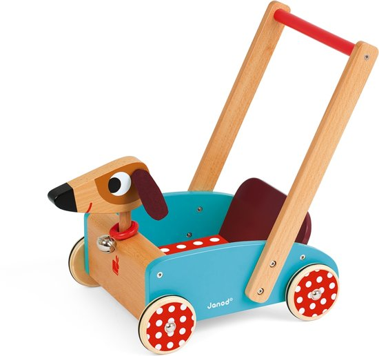 Janod Crazy Hond - Duwkar in Berkt