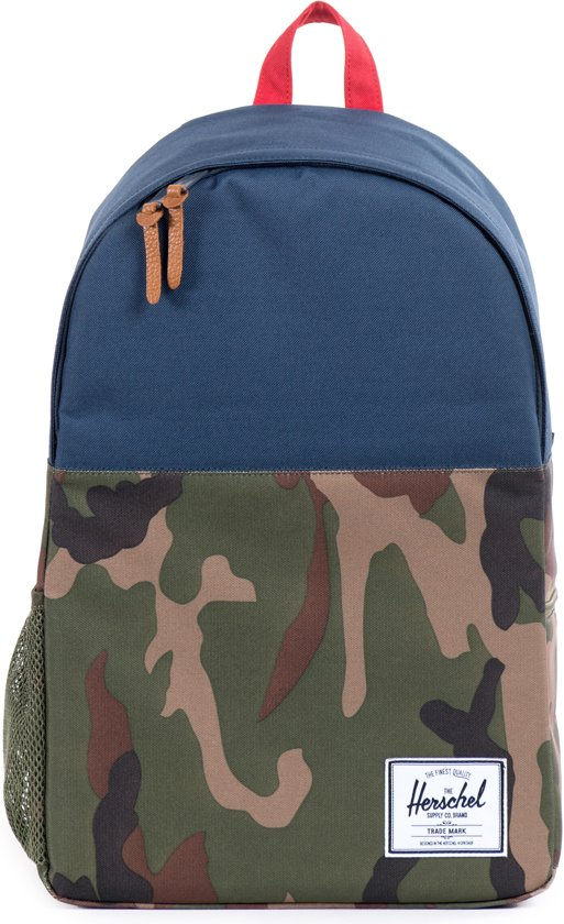 Herschel Supply Co. Jasper - Rugzak - Woodland Camo/Navy/Red in Aye