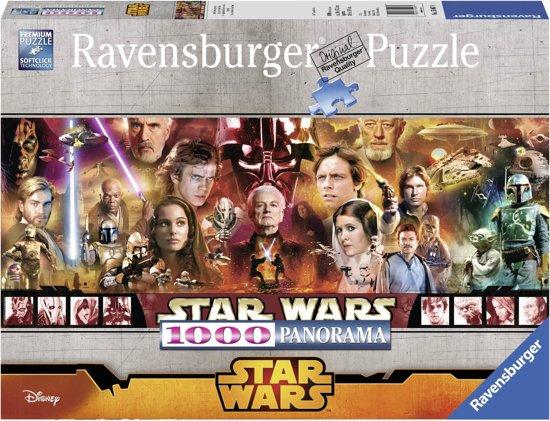 Ravensburger Star Wars legenden - Panorama puzzel van 1000 stukjes in Moorsel