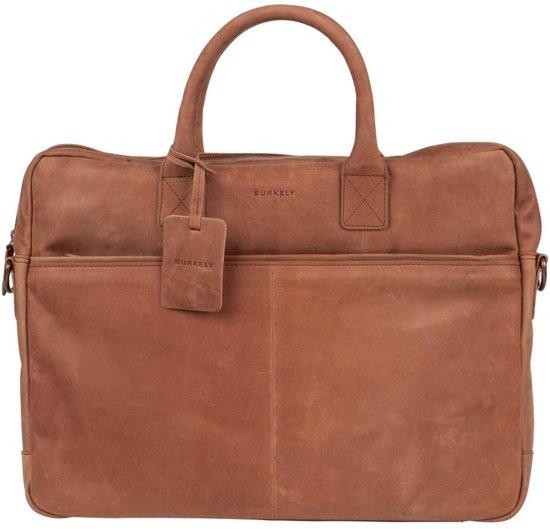 Burkely Leren Laptop Tas Dames Cognac : Bol burkely leren laptoptas cognac inch