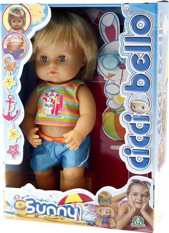 Cicciobello - Sunny - Bruinende babypop van 30 cm in Waver