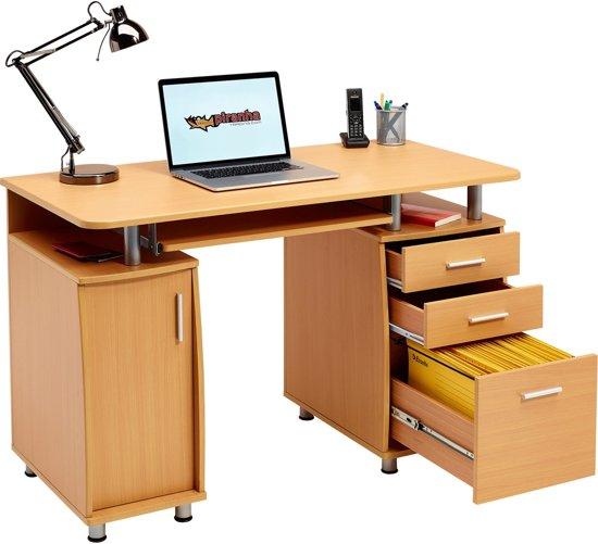 Piranha EMPEROR Bureau - Beuken - Laden - Opbergkast - PC 2b in Bronkhorst