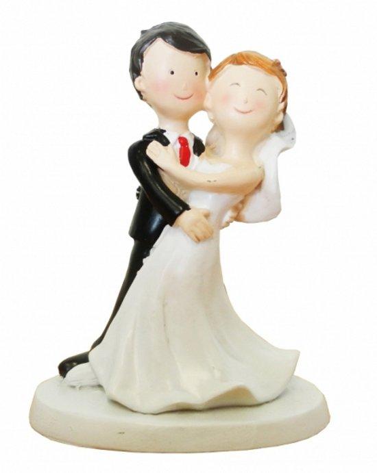 bol trouwfiguurtje bruidspaar dansend