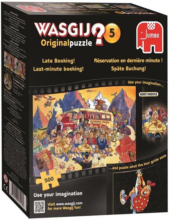 Wasgij Original 5 Late Booking - Puzzel - 500 stukjes in Nieuwe Vaart / Nije Feart