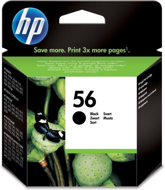 HP 56 - Inktcartridge / Zwart (C6656AE)