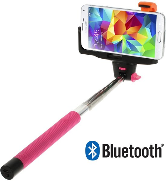 shop4 sony xperia m4 aqua selfie stick bluetooth roze elektronica. Black Bedroom Furniture Sets. Home Design Ideas