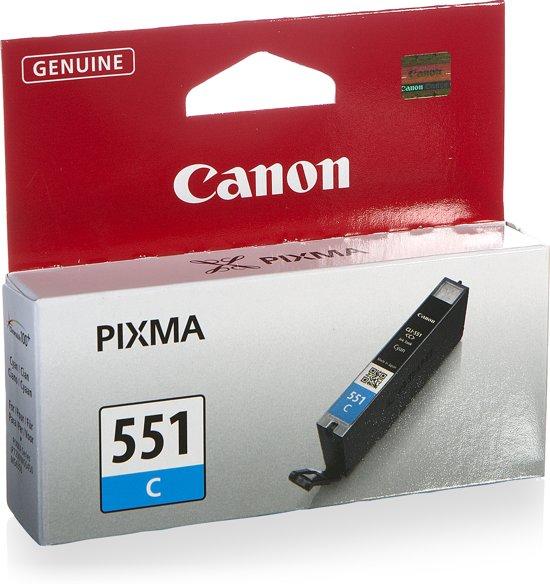 Canon CLI-551C - Inktcartridge / Cyaan