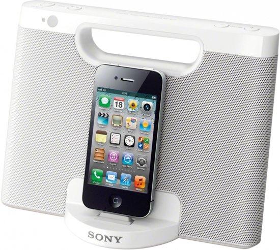 Sony RDP-M7iP  - Dockingstation - Wit