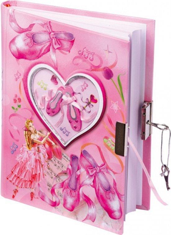 Ballerina dagboek met slot in Laudermarke