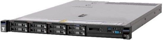 Lenovo System x 3550 M5 2.4GHz E5-2620V3 550W Rack (1U)