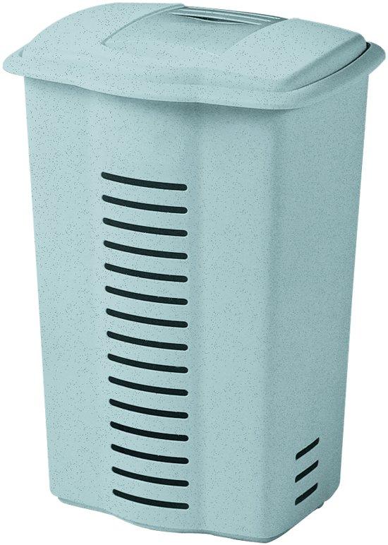 Curver Wasbox standaard - 60 l - Kunststof - Luna Grijs