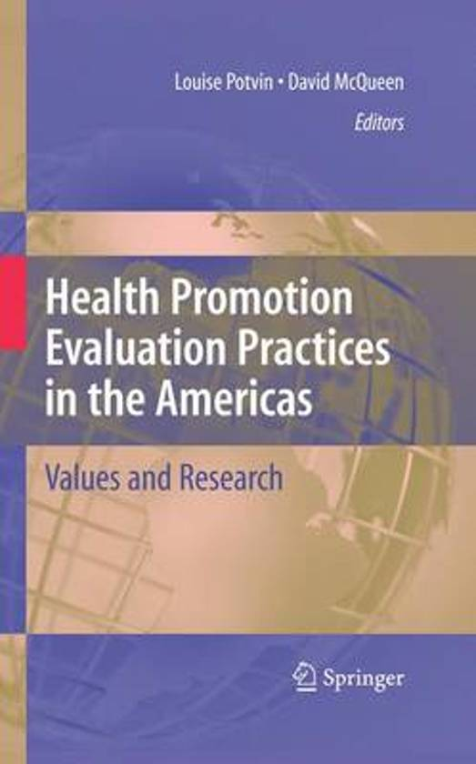 Evaluation of health promotion, public health or public policy interventions