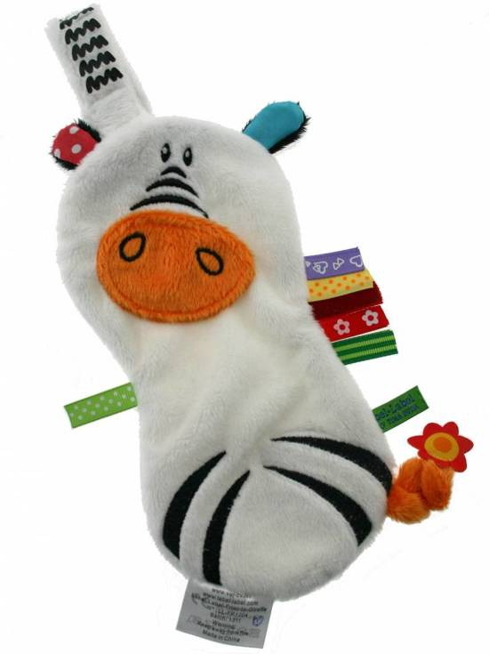 bol.com | Label label speendoekje zebra | Speelgoed