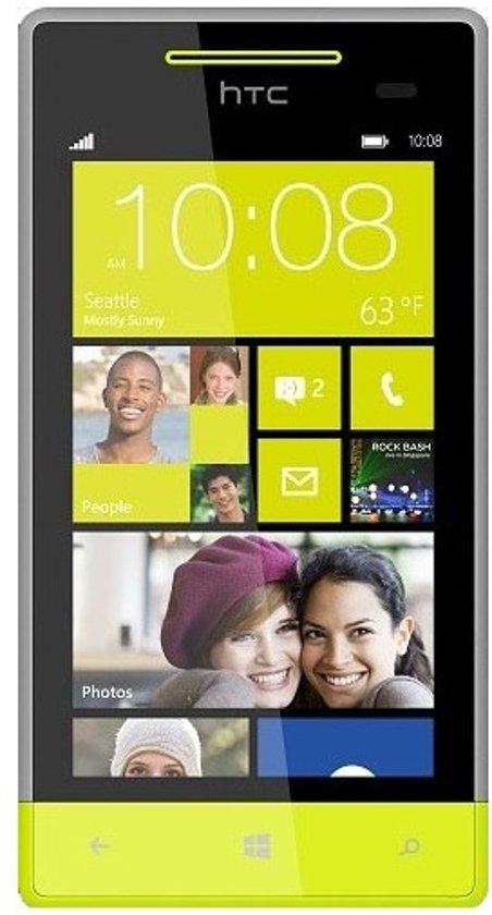 HTC Windows Phone 8S - Grijs/geel