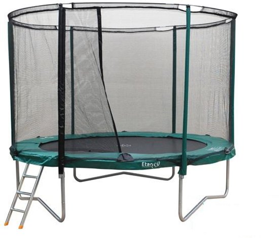 etan premium gold trampoline 180 cm inclusief veiligheidsnet. Black Bedroom Furniture Sets. Home Design Ideas