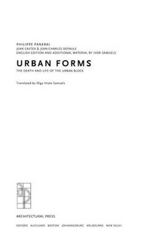 Urban Forms