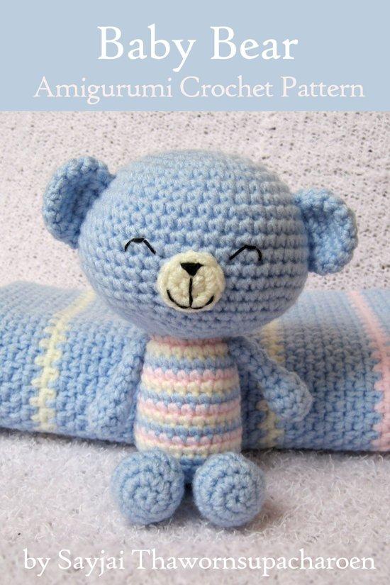 Amigurumi Baby Bear : bol.com Baby Bear Amigurumi Crochet Pattern (ebook ...