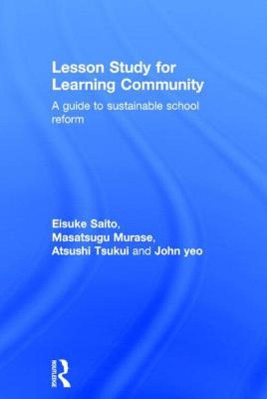 Masatsugu Murase & Eisuke Saito: Lesson Study for Learning ...