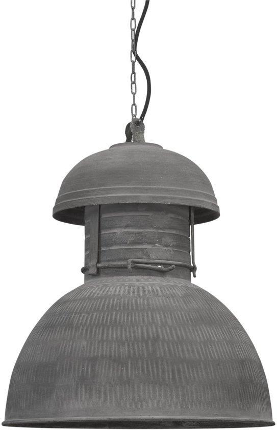 Hkliving warehouse l hanglamp grijs wonen - Kleur grijs zink ...