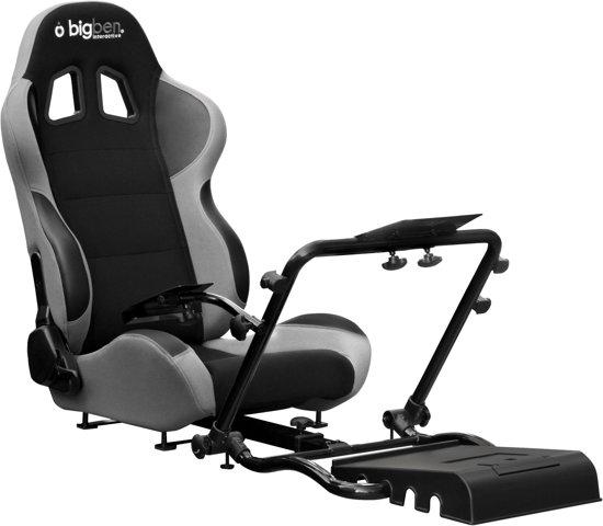 bol.com : Bigben Racestoel + Frame Zwart PS3 + Xbox 360 + PC,Bigben ...