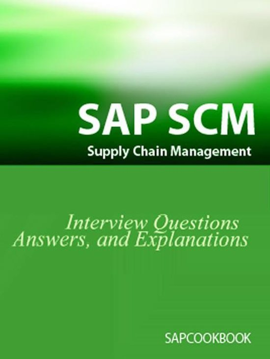 Vendor reference questionnaire: Supply chain management