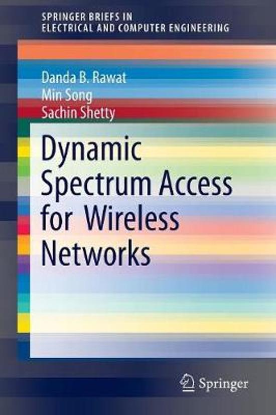 dynamic spectrum access dsa in wireless Damentals of cognitive radio-based wireless communication and networking,  spectrum sharing models, and the requirements for dynamic spectrum access in  addition to the dif-  8215 dsa based on the water-filling algorithm 297.