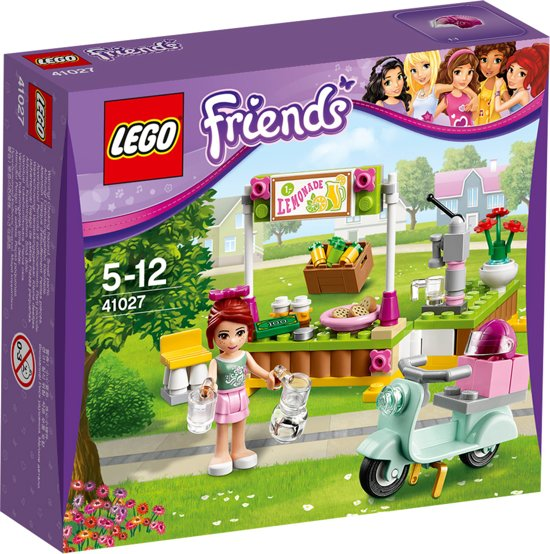 LEGO Friends Mia's Limonadekraam - 41027 in Brucht
