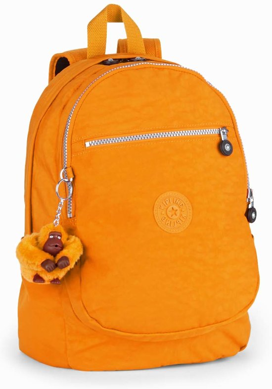 Kipling Clas Challenger - Rugzak - Sunset Yellow in Oeren