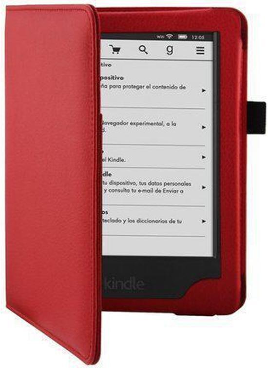 Rode Keukenapparaten : Rode Leren Beschermhoes Amazon Kindle Paperwhite (Cover / Case / Hoes)