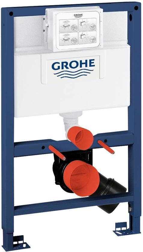 grohe rapid sl inbouwreservoir voor hangend toilet extra laag. Black Bedroom Furniture Sets. Home Design Ideas