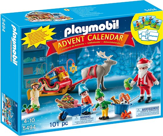 Playmobil Adventskalender Kerstman met geschenkjes - 5494 in Neerheylissem
