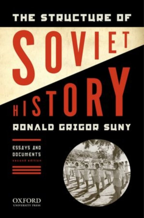 The structure of soviet history essay and document