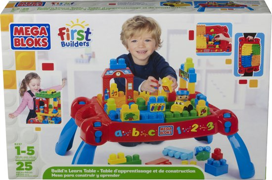 Mega Bloks First Builders 3 in 1 - Bouwtafel