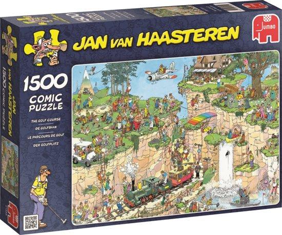 ... van Haasteren De Golfbaan - Puzzel - 1500 stukjes,Jumbo : Speelgoed