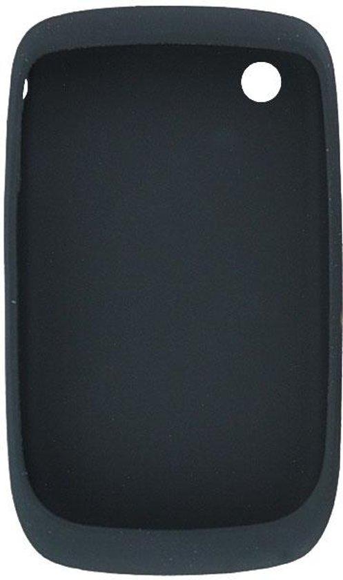 Blackberry siliconen hoes voor de Blackberry 8520 en Blackberry 9300 - Zwart