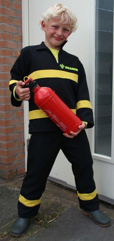 Brandweerpak kind nederlandse uitvoering zwart maat 104/116 in Aardenburg