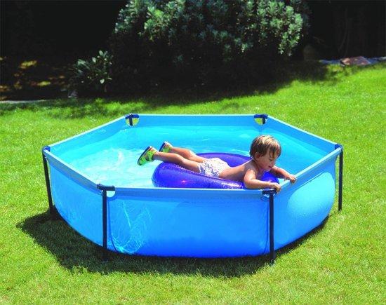Zwembad - Pool - Frame - 160 x 160 x 40 cm in Tussenklappen