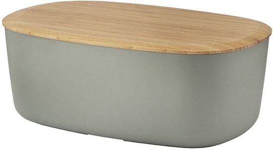 rig tig by stelton broodbox grijs koken en tafelen. Black Bedroom Furniture Sets. Home Design Ideas