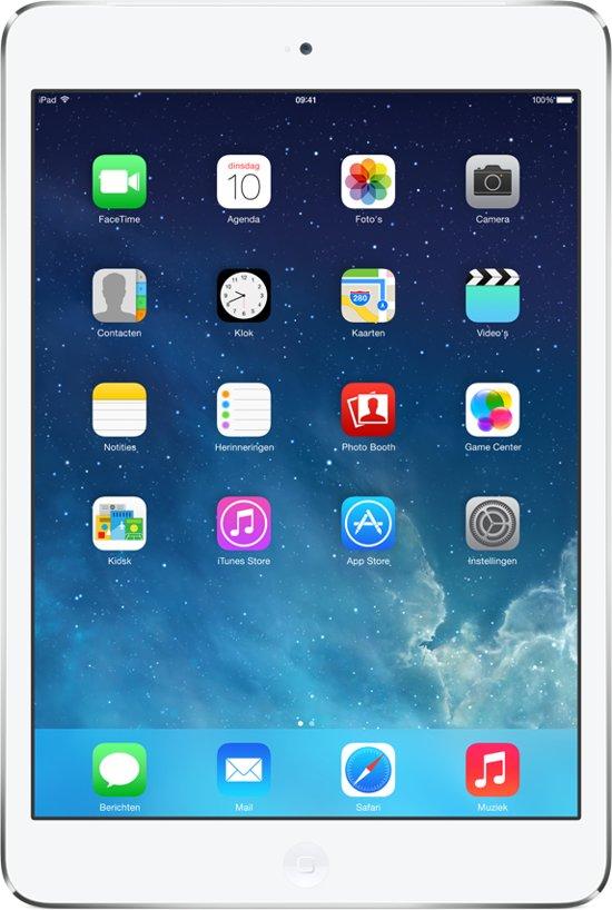 Apple iPad Mini 2 - 4G + WiFi - Wit/Zilver - 16GB - Tablet