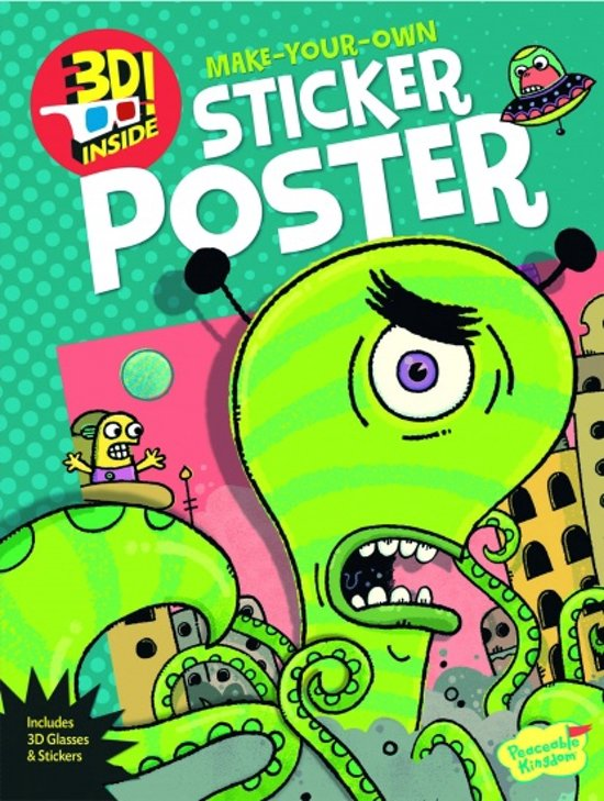 Peaceable kingdom Activiteiten posterboek alien attack! in Holten