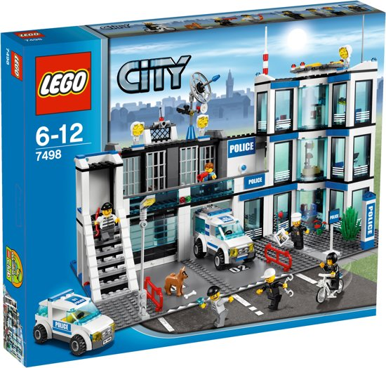 lego city politiebureau 7498 lego. Black Bedroom Furniture Sets. Home Design Ideas