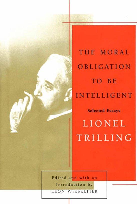 lionel trilling critical essays